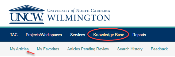 Finding Knowledge Base Articles You Own