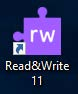 Read and Write Desktop icon